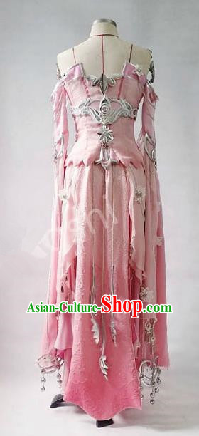 Asian Chinese Traditional Cospaly Costume Customization Dunhuang Flying Apsaras Costume, China Elegant Hanfu Peri Dress Clothing for Women