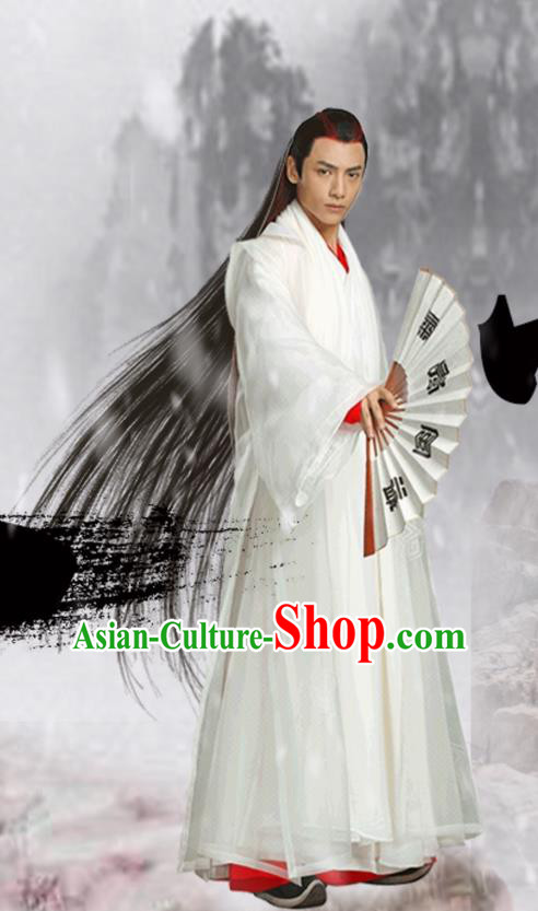 Traditional Ancient Chinese Tang Dynasty Nobility Childe Clothing, Chinese Ancient Palace Prince Robe Costume and Headpiece Complete Set