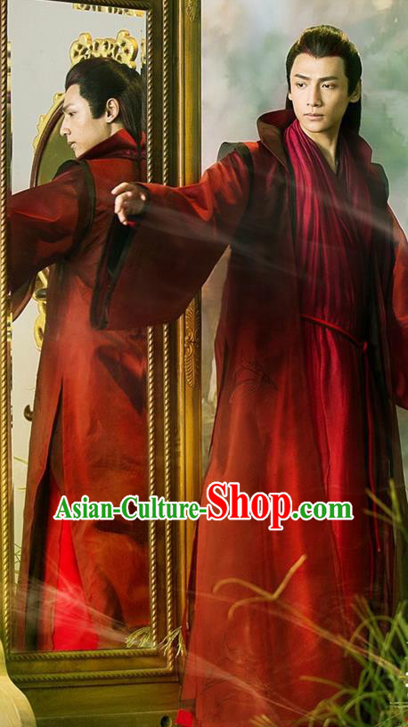 Traditional Ancient Chinese Tang Dynasty Dandies Clothing, Chinese Ancient Nobility Childe Robe Costume and Headpiece Complete Set