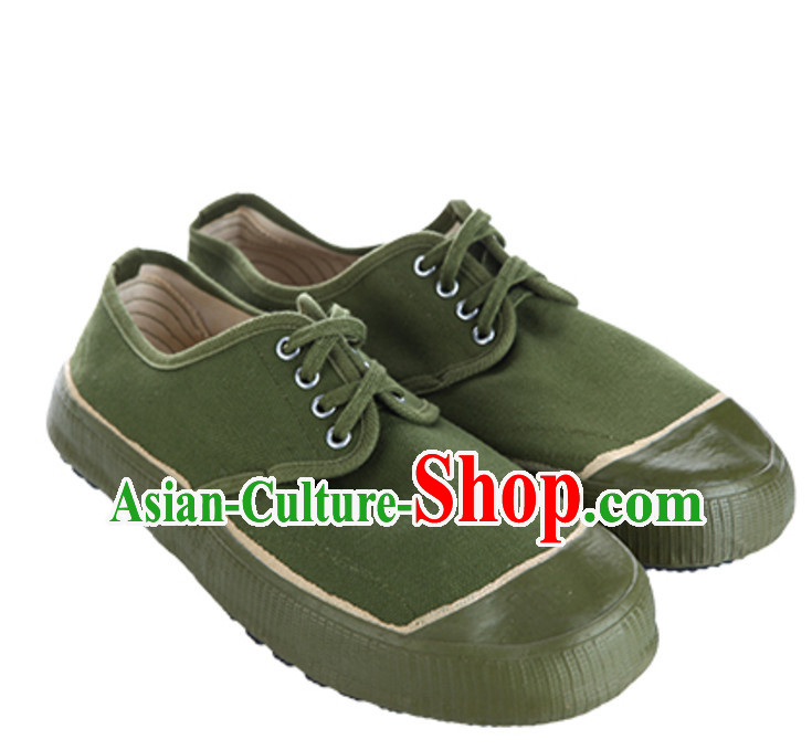Chinese Red Army Solider Stage Performance Shoes