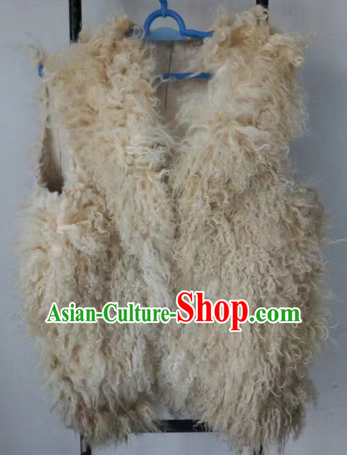 Handmade Old Style Dongbei Province Sheep Wool Vest