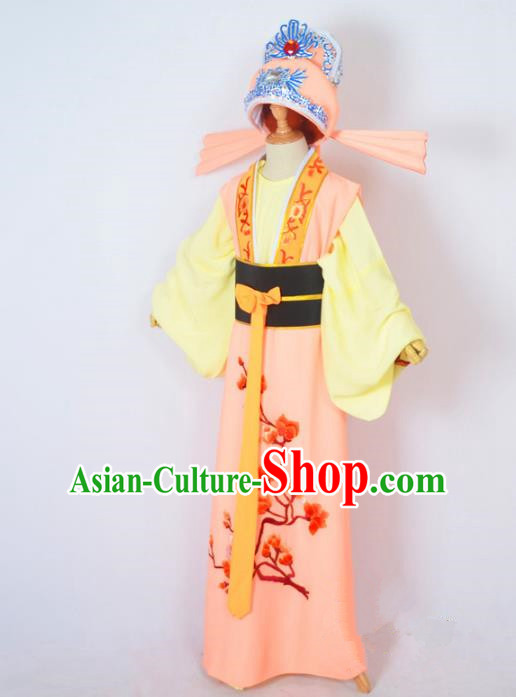 Traditional Chinese Professional Peking Opera Nobility Childe Costume and Complete Set, China Beijing Opera Shaoxing Opera Embroidery Prince Robe Clothing