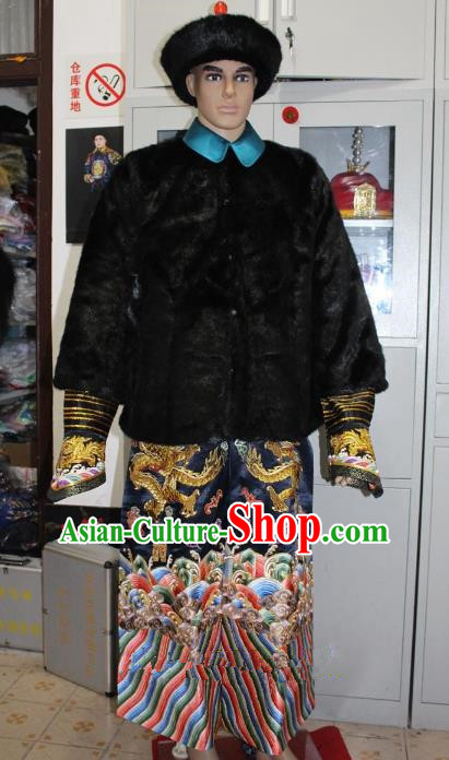 Top Grade Professional Beijing Opera Manchu Niche Costume Gifted Scholar Embroidered Robe, Traditional Ancient Chinese Peking Opera Embroidery Clothing