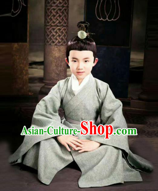 Traditional Chinese Ancient Nobility Childe Costume, Elegant Hanfu Clothing Chinese Han Dynasty Scholar Clothing