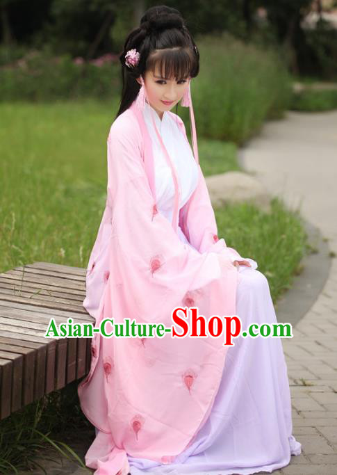 Traditional Chinese Tang Dynasty Imperial Concubine Costume Embroidery Cardigan and Dress, Elegant Hanfu Clothing Chinese Ancient Princess Clothing for Women
