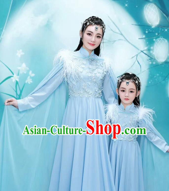 Traditional Ancient Chinese Imperial Consort Costume, Elegant Hanfu Chinese Han Dynasty Embroidered Dress Clothing for Women