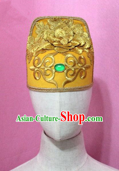 Traditional Handmade Chinese Hair Accessories Emperor Headwear, China Tang Dynasty Majesty Hats for Men