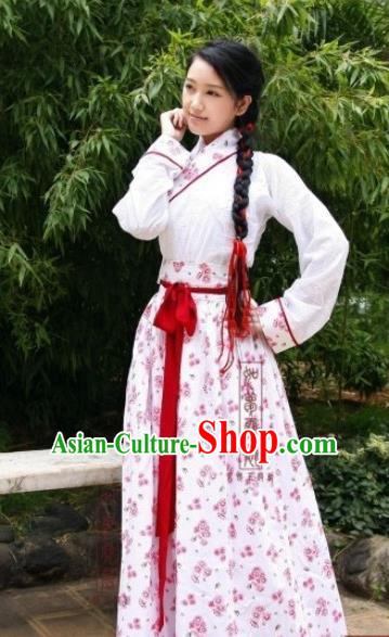 Traditional Ancient Chinese Swordswoman Hanfu Costume, Asian Chinese Song Dynasty Embroidered Clothing for Women