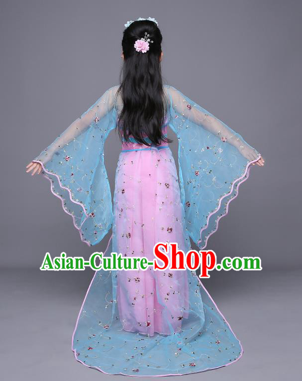Traditional Ancient Chinese Costume Chinese Style Wedding Dress Ancient Tang Dynasty hanfu princess Clothing