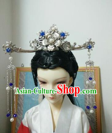 Traditional Handmade Chinese Tang Dynasty Imperial Consort Hair Accessories Headwear for Women