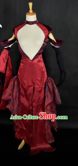 Traditional Chinese Ancient Swordswoman Hanfu Costume Tang Dynasty Young Lady Clothing for Women
