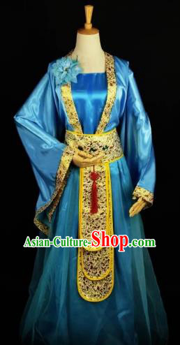 Traditional Chinese Ancient Imperial Consort Costume Tang Dynasty Nobility Lady Clothing for Women