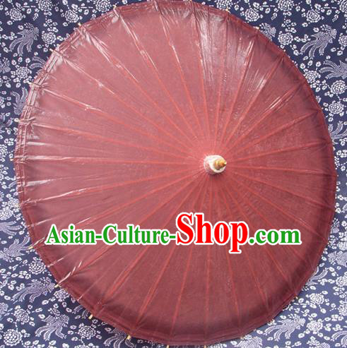 Handmade China Traditional Folk Dance Umbrella Stage Performance Props Umbrellas Red Oil-paper Umbrella