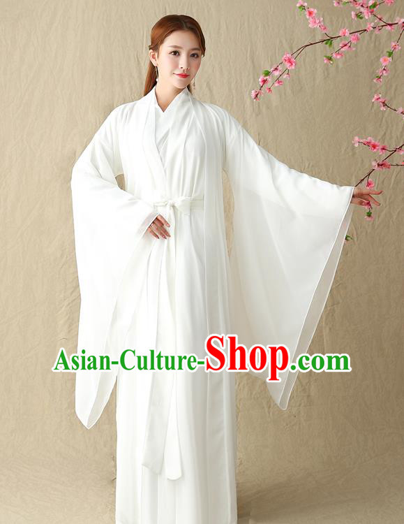 Traditional Chinese Song Dynasty Swordswoman Costume, China Ancient Little Dragon Maiden Hanfu Clothing for Women