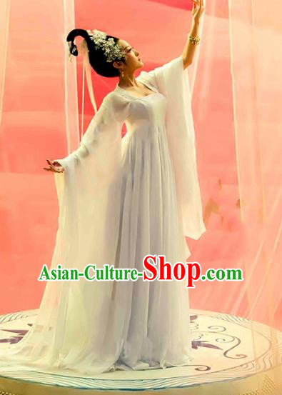 Traditional Chinese Ancient Palace Lady Costume, China Tang Dynasty Princess Dance Clothing