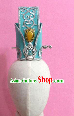 Traditional Chinese Handmade Hair Accessories Ancient Tang Dynasty Prince Hairdo Crown Headwear for Men