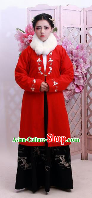 Chinese Traditional Ancient Costumes Ming Dynasty Nobility Countess Hanfu Dress for Women