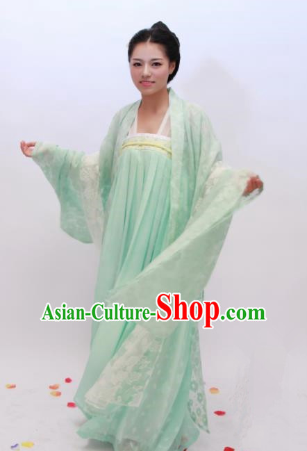Chinese Traditional Ancient Costumes Tang Dynasty Palace Princess Hanfu Dress for Women