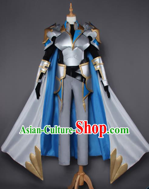 Chinese Traditional Cosplay Armor Costumes Ancient Nobility Childe Swordsman Clothing for Men