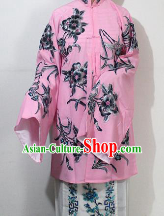 Chinese Traditional Peking Opera Diva Costumes Ancient Princess Embroidered Pink Clothing for Women