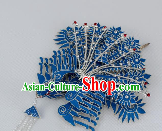 Chinese Traditional Peking Opera Phoenix Hairpins Ancient Princess Hair Accessories for Women