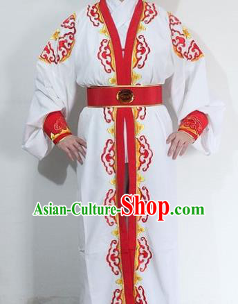 Chinese Traditional Peking Opera Niche Embroidered Robe Ancient Prince Costume for Men