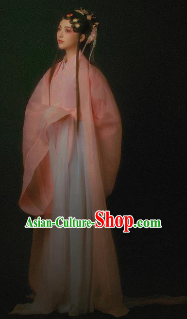 Traditional Chinese Beijing Opera Costumes Ancient Fairy Hanfu Dress for Women