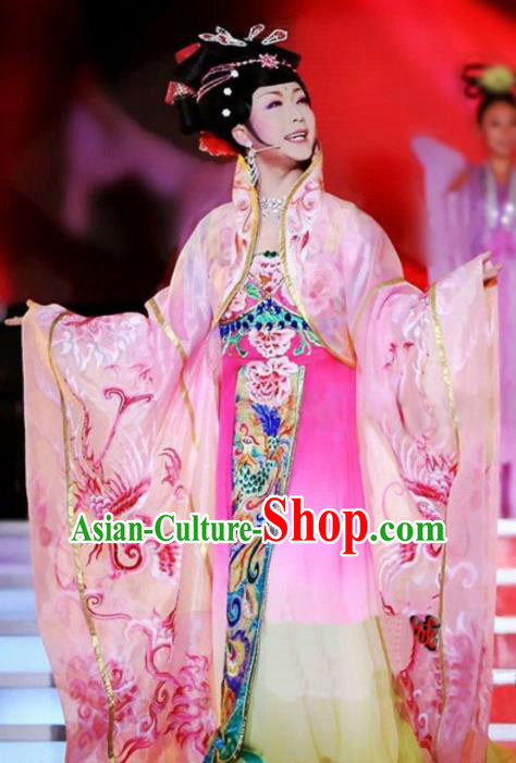 Chinese Ancient Tang Dynasty Imperial Consort Yang Embroidered Costumes for Women