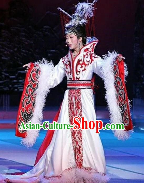 Chinese Han Dynasty Imperial Consort Embroidered Costumes Ancient Princess Hanfu Dress for Women