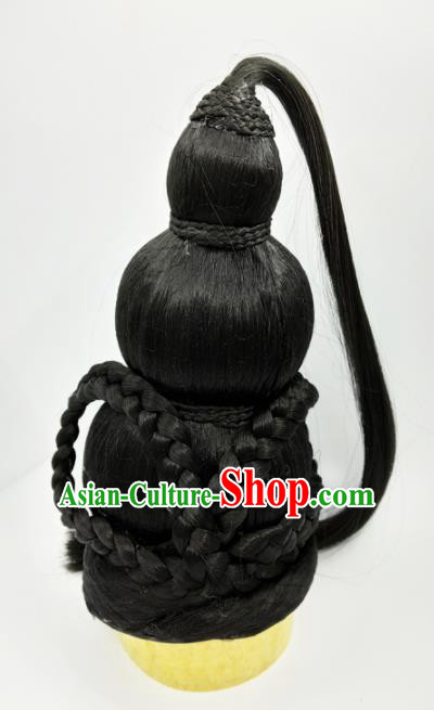 Chinese Ancient Hair Accessories Tang Dynasty Princess Chignon Wigs for Women