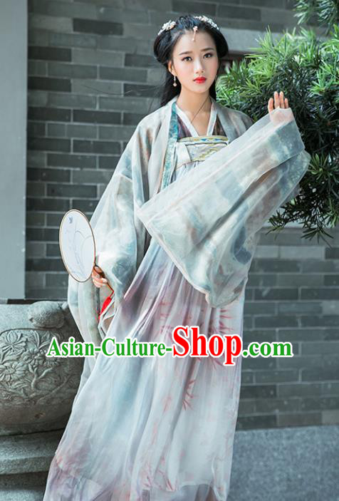 Traditional Chinese Tang Dynasty Nobility Lady Costumes Ancient Imperial Consort Hanfu Dress for Women