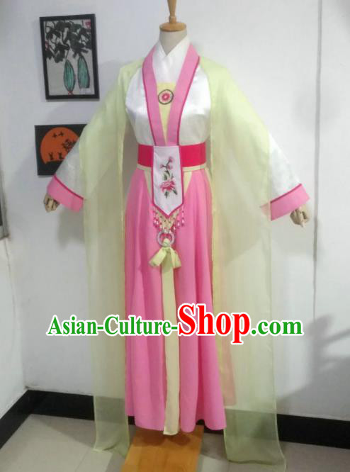 Chinese Traditional Peking Opera Diva Costumes Ancient Las Meninas Dress for Adults