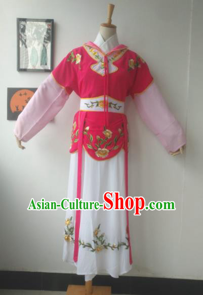 Chinese Traditional Peking Opera Mui Tsai Costumes Ancient Beijing Opera Diva Clothing for Adults