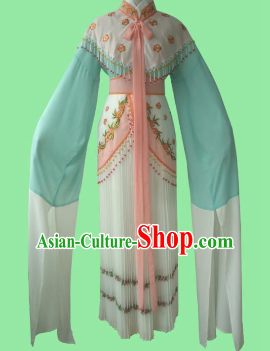 Chinese Traditional Peking Opera Diva Costumes Ancient Princess Embroidered Dress for Adults