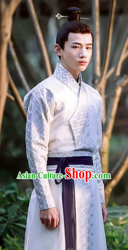 Chinese Ancient Tang Dynasty Swordsman Costumes The Rise of Phoenixes Knight Clothing for Men