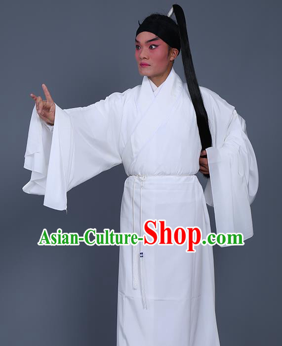 Chinese Traditional Peking Opera Niche Costume Ancient Prisoner Clothing for Adults