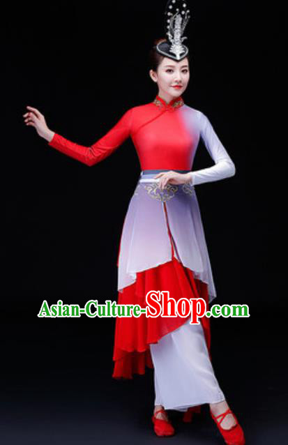 Chinese Traditional Folk Dance Costume Classical Dance Yangko Clothing for Women