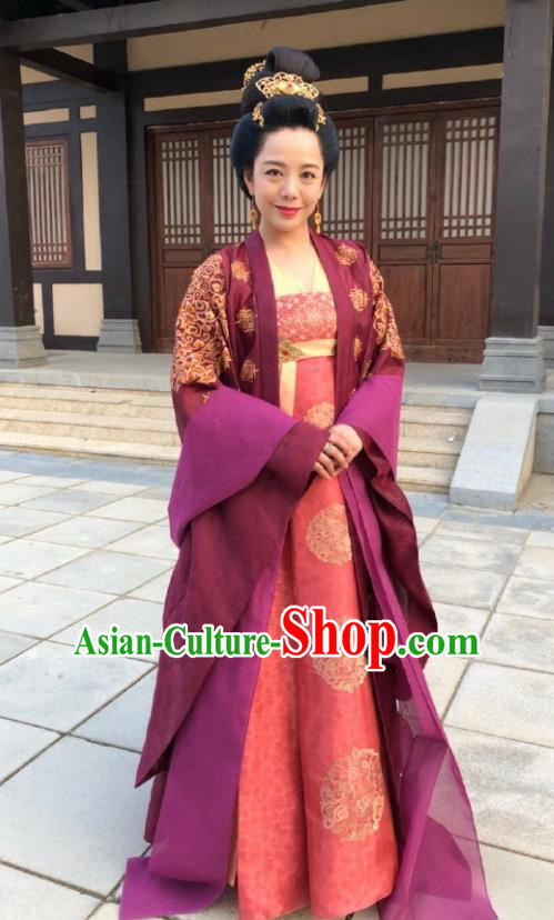 Chinese Ancient Tang Dynasty Imperial Consort Costumes The Rise of Phoenixes Palace Lady Dress for Women xxxxxl