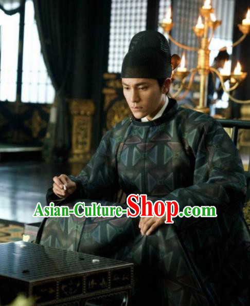 Chinese Traditional Ancient Crown Prince Costumes The Rise of Phoenixes Tang Dynasty Clothing for Men