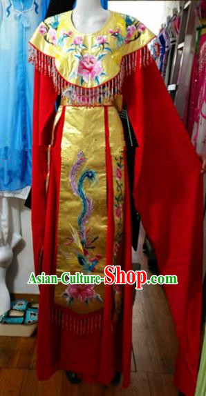 Chinese Traditional Beijing Opera Actress Empress Dress Ancient Peri Embroidered Costumes for Women