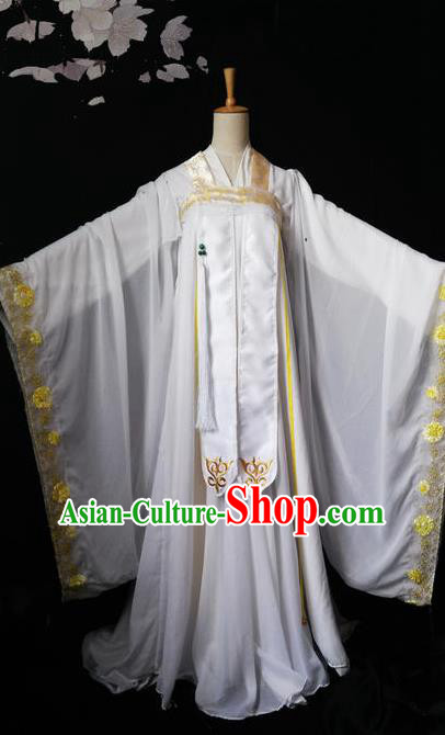 Chinese Ancient Tang Dynasty Princess Hanfu Dress Cosplay Peri Costumes for Women