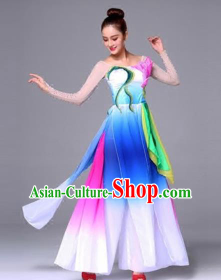 Traditional Chinese Classical Clothing Fan Dance Dress for Women