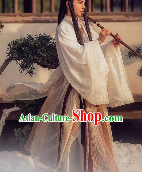 Chinese Ancient Jin Dynasty Nobility Lady Swordswoman Embroidered Costumes for Women