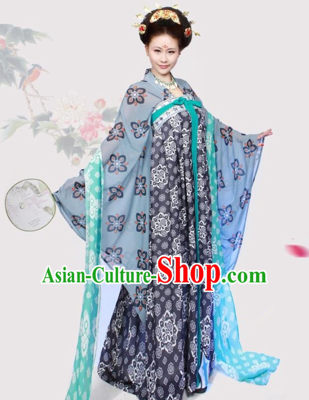 Chinese Ancient Imperial Consort Historical Costumes Tang Dynasty Court Maid Hanfu Dress for Women