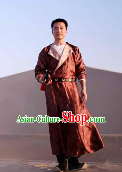 Chinese Ancient Tang Dynasty Swordsman Imperial Bodyguard Costumes for Men