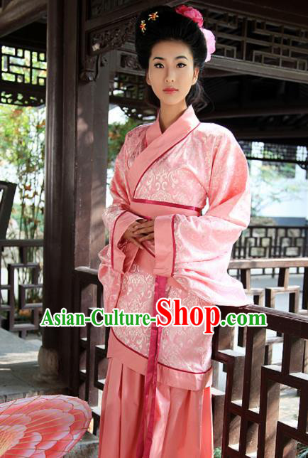 Chinese Ancient Royal Lady Costumes Traditional Han Dynasty Princess Hanfu Dress for Women