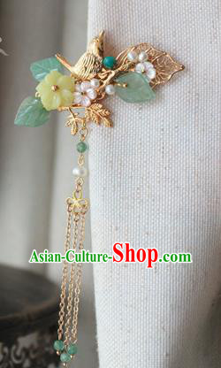 Asian Chinese Traditional Hair Accessories Ancient Hanfu Hair Stick Hairpins for Women