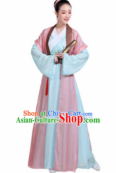Chinese Traditional Folk Dance Costumes Classical Dance Dress for Women