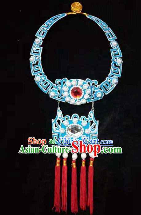 Traditional Chinese Beijing Opera Niche Accessories Ancient Prince Necklace for Men