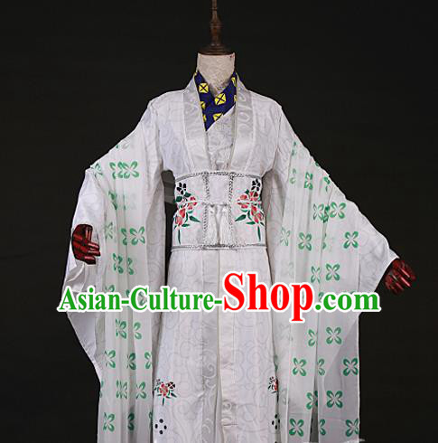 Chinese Traditional Ancient Swordsman Nobility Childe Costumes for Men